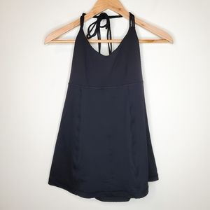 Lululemon Wandering Yogi Halter Athletic Wear Tank
